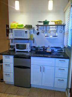 The Kitchenette of the mini one bedroom