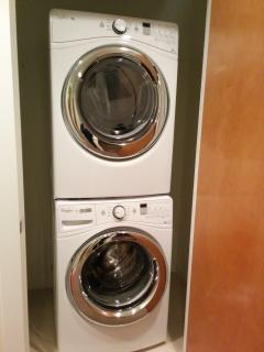 full size washer + dryer