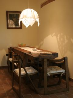 The dining area.. - La zona pranzo..