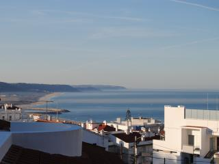 Triplex House with Sea View Terrace, Nazaré