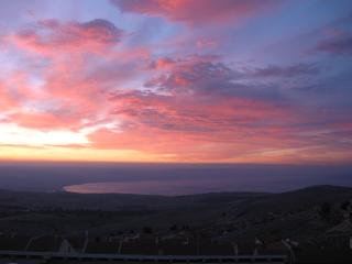 Beautiful sunrise photo taken from Mahler's Guest House