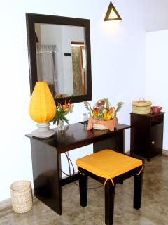 dressing table in rooms