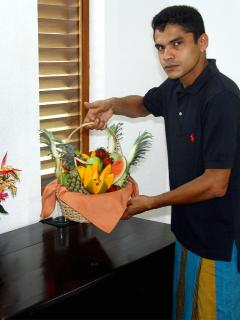 A fruit basket prepared for that special occasion