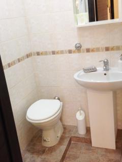 Bagno secondario, solo WC e lavabo