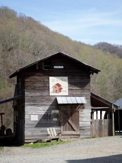 The grain barn