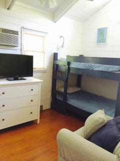 Bedroom #4 Double Bunk Beds Second Floor with TV and DVD player