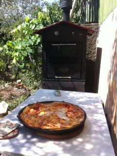 our fire wood oven