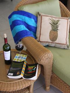 Relax with a good book in the afternoon breeze.