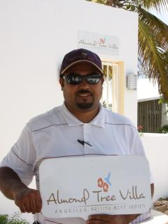 Villa Manager meets you upon arrival in the Island. Escots you to the property.