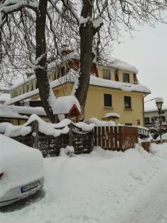 The house in wintertime
