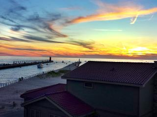 Spectacular Lakefront Living at The Lighthouse North Beach, South Haven
