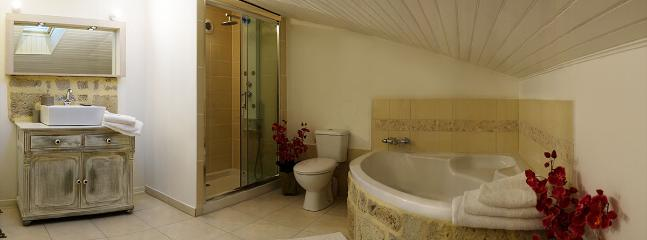 En-suite Family bathroom - with bath, shower and WC