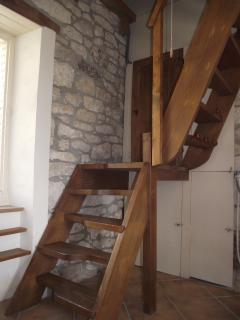 Staircase Le Pigeonnier