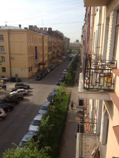 Street view from the balcony (May 2013)