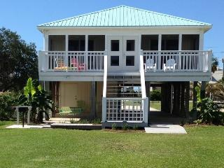 Waterfront Family Beach House on Little Lagoon- Private Pier! Walk to the beach!