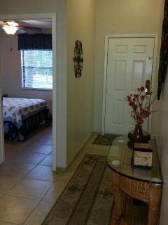 Entrance and Guest Bedroom
