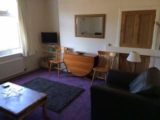 St Andrews, ground floor two bedroom flat, parking
