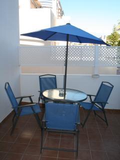 designated smoking area terrace