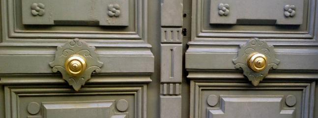 Original Double Front Doors