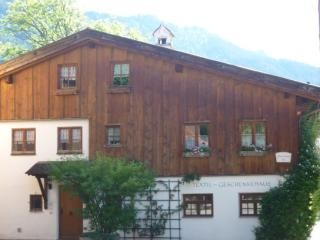 Vacation Apartment in Oberammergau - 16221 sqft, for familys, bright, quiet, central (# 4170)