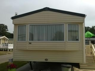 Fantastic Caravan at Hoburne Park, Christchurch