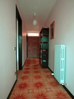 The entrance hallway