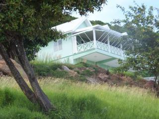 Mapou Hill Villa as you come up the driveway