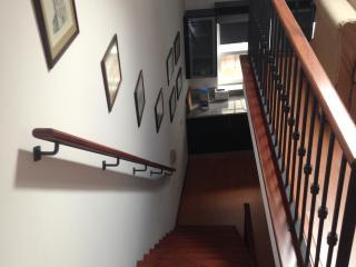 Galeria de fotografias da cidade, escadas