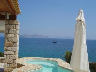 Thalassoporta: Stunning views and a private beach, Porto Heli