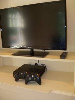 Library's gaming system.  We have a small supply of popular games
