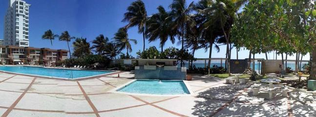 panoramic, pool and children's pool beside