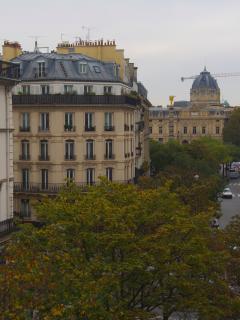La vue depuis l'appartement