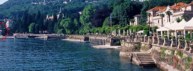 The lakeside villa - a short stroll away from the village center of Baveno