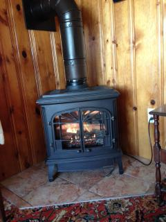 Comfy fireplace heater