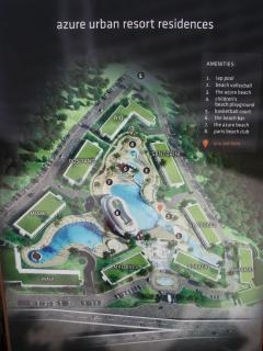 A map of the Azure development