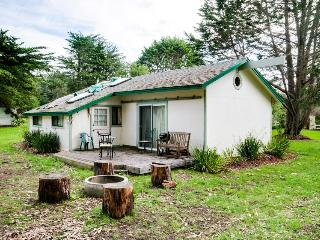 Dog friendly cabin w/park & beach access; hot tub, fireplace & pit, Fort Bragg