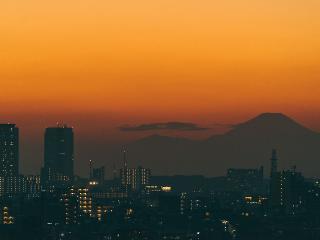 Mt Fuji view - mySuites STUDIO at Tokyo Kamata (#1204)