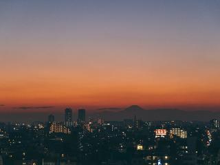 Mt Fuji view Studio 2-pax ~ mySuites Tokyo Kamata (#1204)