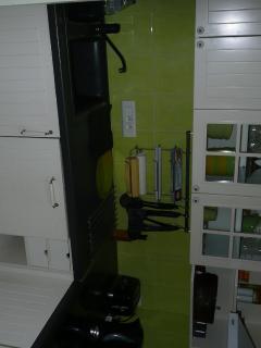 Gîte Jardin - cuisine