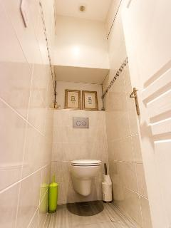 Separate contemporary WC