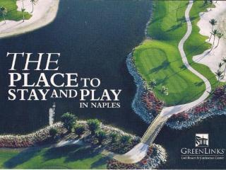 2 Bd, 2 Bath Condo @GreenLinks Golf Resort Naples, Nápoles