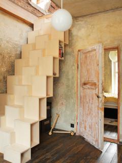 staircase to second floor. photo: Juta Kübarsepp