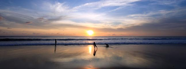 Seminyak is one of the best locations from which to watch the amazing Bali sunsets!