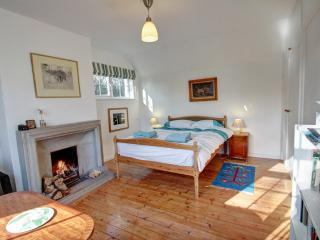 Peaceful, tasteful, apartment with open fire, Dartington