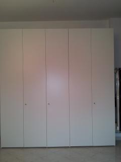 A large closet