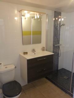 villa sea & surf salle d'eau  lavabo wc