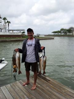 A good day out fishing in the bay