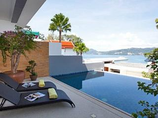 Atika villas villa 2 oceanfront serviced pool vill