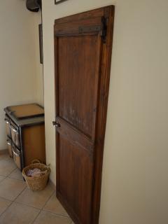Porta Legno Antico - Ripostiglio