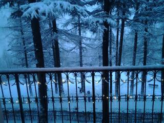 Vista dal balcone di soggiorno